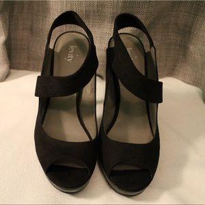 Levity Strappy High Heels